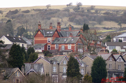 Photograph, Picture, Grange-over-sands, Rooftops