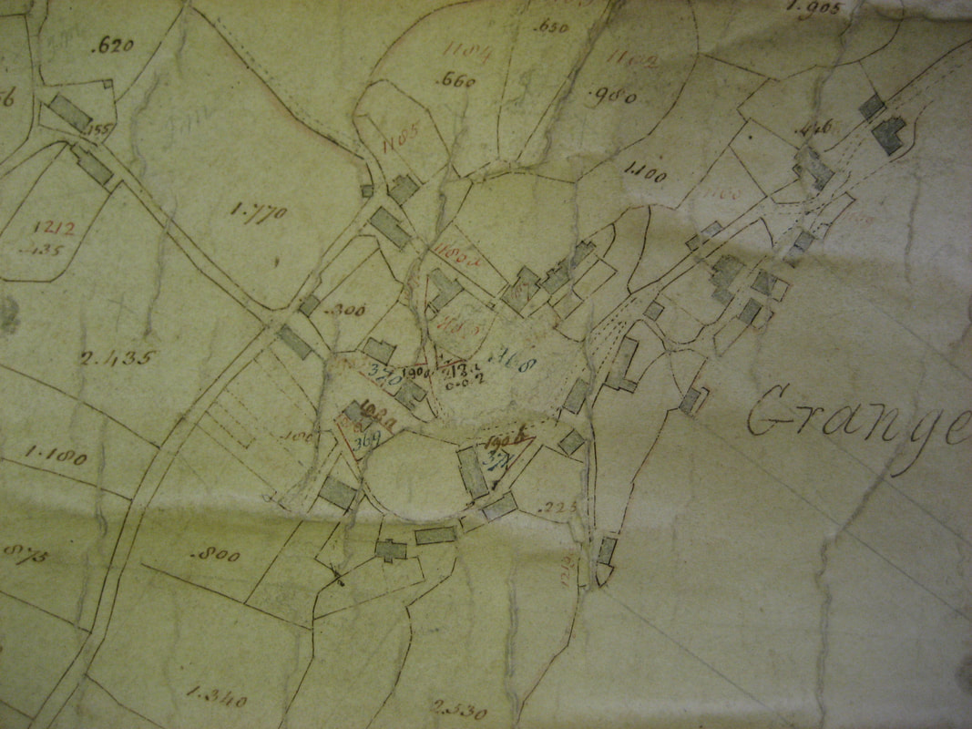 Old Map of Grange-over-Sands 1796